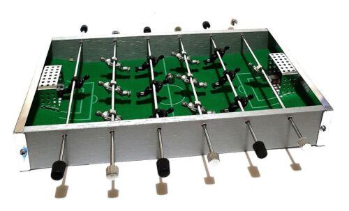 Mini  Aluminium Fußball Tischkicker Kickertisch Kicker Tischfußball Reise Ball