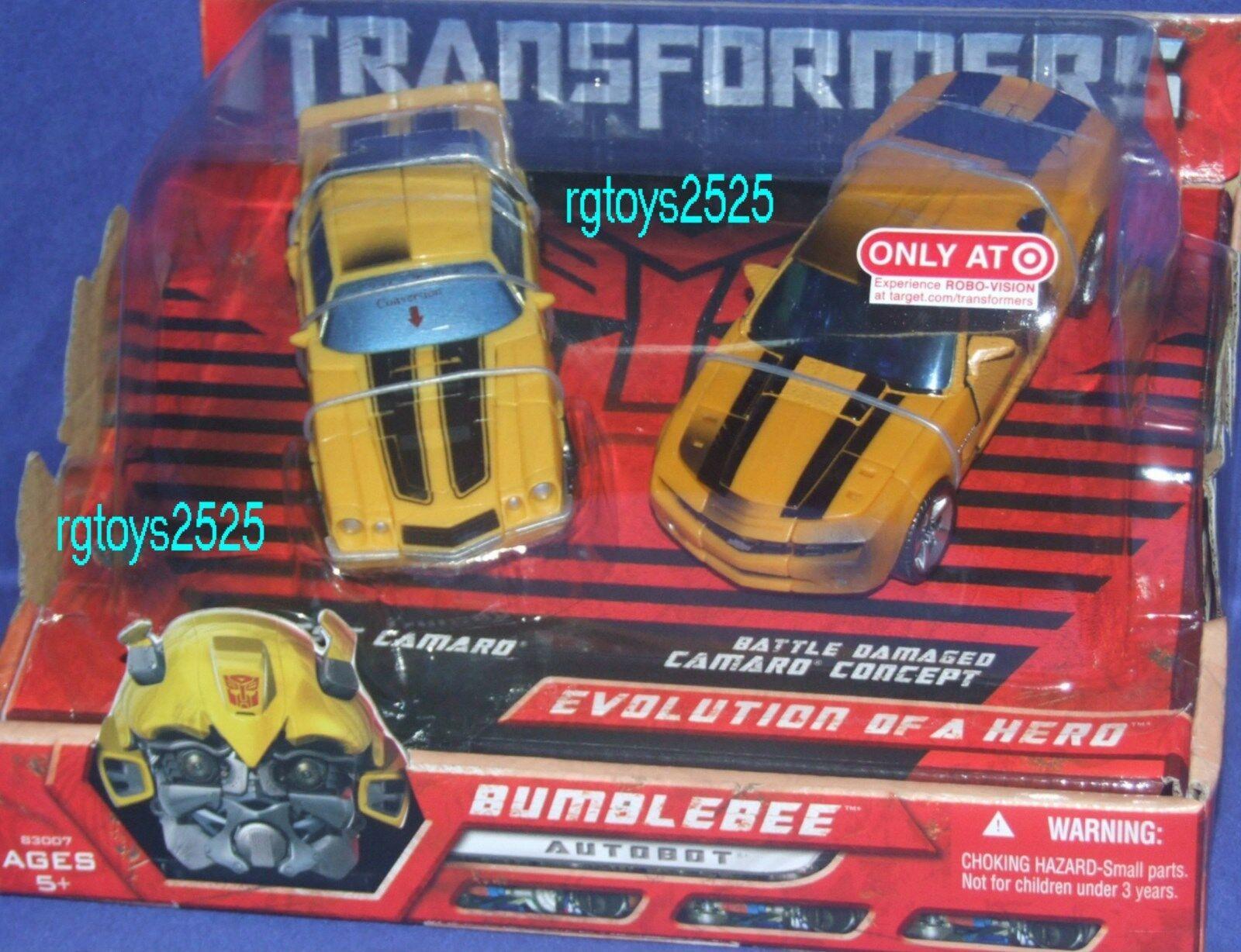 Transformers Película Batalla exclusivo Bumblebee Camaro Concept Nuevo Sellado De Fábrica