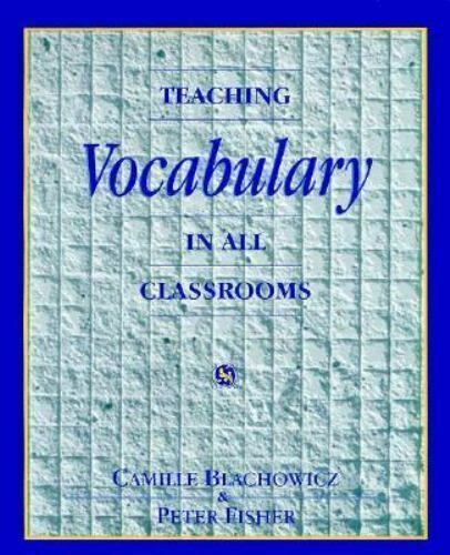 Teaching Vocabulary by Peter Fisher and Camille Blachowicz (1995, Paperback)