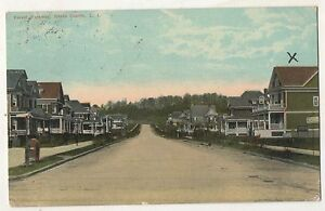 Forest-Parkway-UNION-COURSE-LI-Long-Island-New-York-Vintage-NY-Postcard