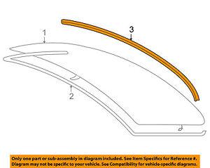 BMW-OEM-07-11-328i-Rear-Window-Glass-Surrround-Lower-Molding-Trim-51317138664