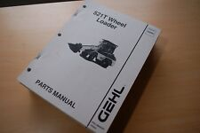 Gehl 521t Front End Wheel Loader Parts Catalog Manual Mini Rubber Tire Pay List