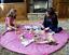UK-Large-Portable-Kids-Play-Mat-Storage-Bag-Toys-Lego-Organizer-Rug-Box-Pouch miniature 9