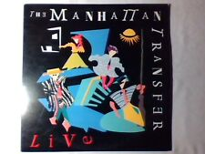 MANHATTAN TRANSFER Live 1987 lp USA RAY CHARLES SONNY ROLLINS COUNT BASIE