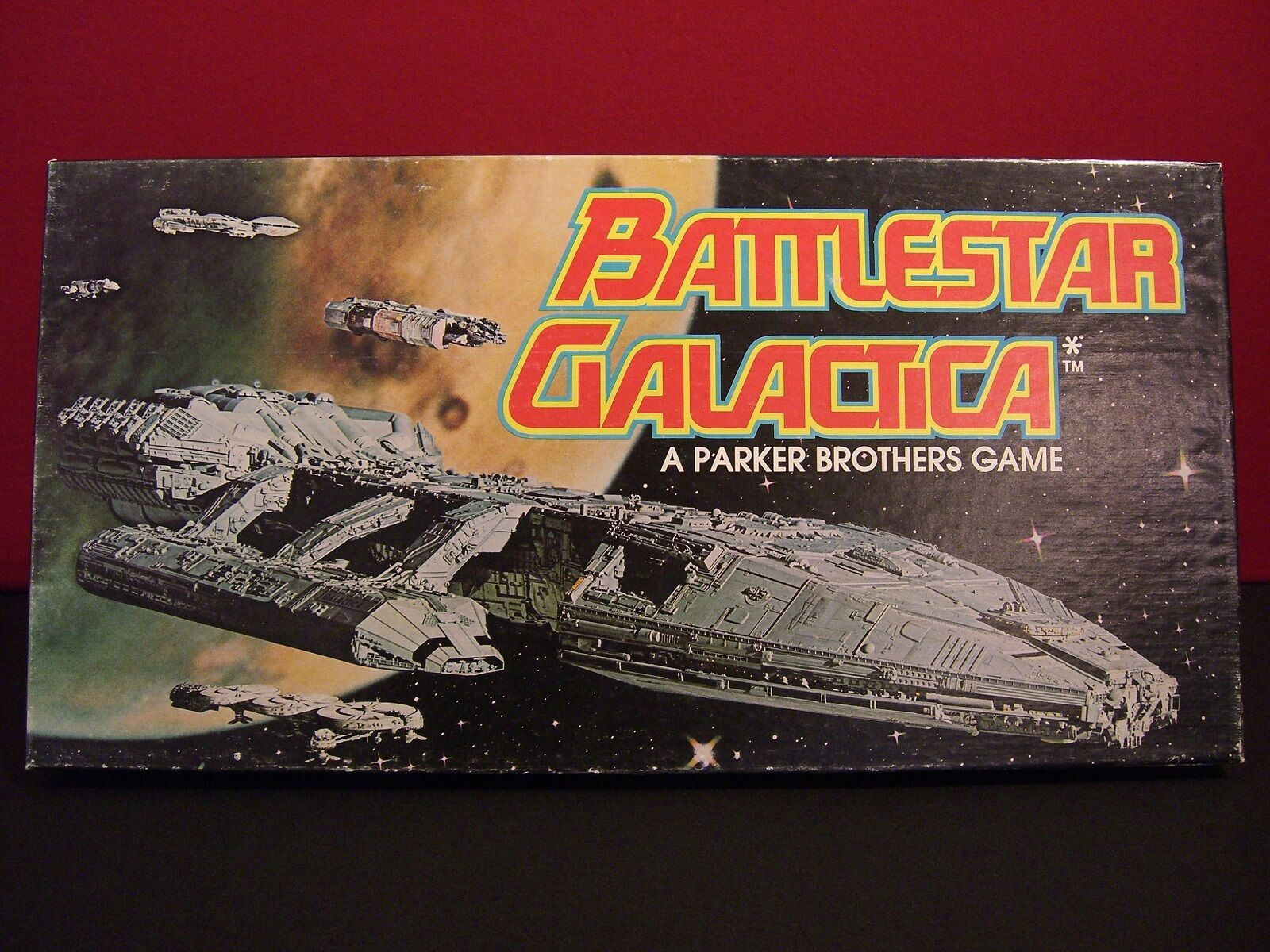 battlestar Galactica Vintage 1978 Complete Board Game Great Condition