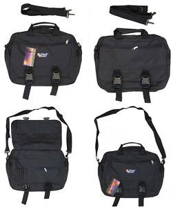 Mens-Travel-Shoulder-Messenger-Satchel-Man-Tote-A4-Work-Office-Day-Man-Bag-Black