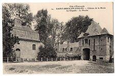CPA 35 - SAINT BRICE EN COGLES (Ille et Vilaine) Château de la Motte - Chapelle