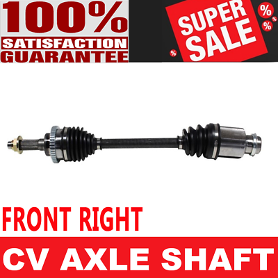 Front Front USA Made 95-98 Mazda Prot/ég/é FWD Complete Front Driver Side CV Axle Shaft for