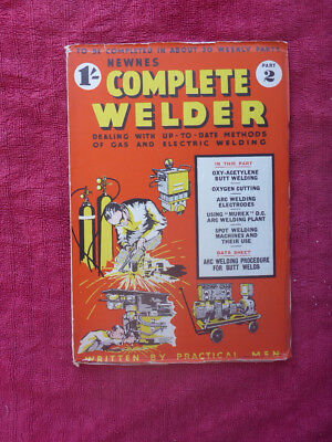 Metalworking Manuals, Books & Plans Part 2 New Varieties Are Introduced One After Another Knowledgeable Vintage Newnes Complete Welder Magazine