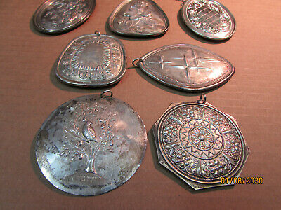 """Towle Sterling """"12 Days of Christmas"""" Ornaments Lot of 7 ..."""