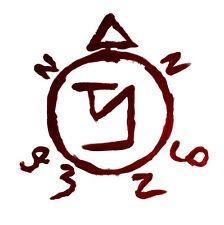 Framed Print - Symbol of Azazel (Picture Poster Supernatural Satanic Demon Art)