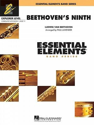 Instruction Books, Cds & Video Brass Beethoven's Ninth Essential Elements Explorer Level Book And Audio 000860516