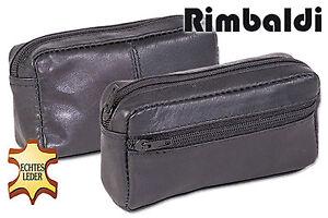 Rimbaldi-Grosse-Leder-Schluesseltasche-mit-Extrafach-in-Schwarz