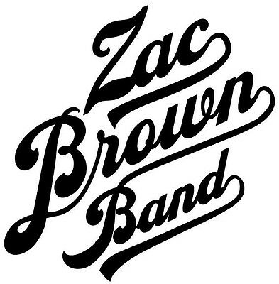 Vinyl Decal Truck Car Sticker Laptop Music Country Bands Zac Brown Band
