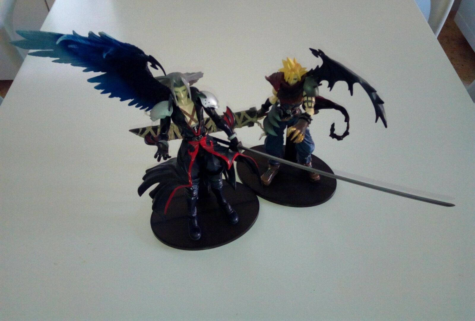 Figurines Cloud & Sephiroth FF7 Final Fantasy Kingdom hearts play arts