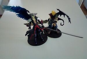 Figurines Nuage & Sephiroth Ff7 Final Fantasy Kingdom Cœurs Play Arts