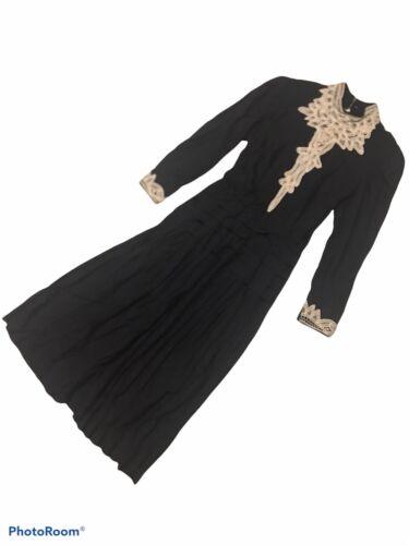 Black Gunne Sax Inspired Dress - image 1