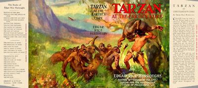 Edgar Rice Burroughs Tarzan At The Earth's Core Fac Grosset Direktverkaufspreis -umschlag Für 1