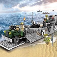 Sluban Building Blocks WWII Series Landing Craft
