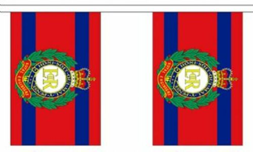 British Army Royal Engineers Polyester Flag Bunting 3m long with 10 Flags