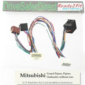 4-Head-5081-41 Radio-SOT Cable for JVC Double-DIN//Mitsubishi Shogun 07