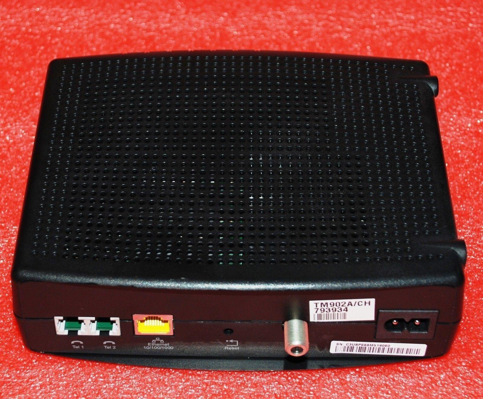 ARRIS Tm902a Touchstone 8x4 DOCSIS 3 Telephony Modem 300 Mbps for