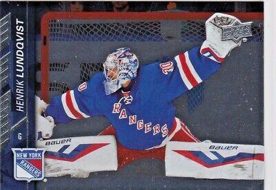 Henrik Lundqvist 2015//16 Upper Deck Hockey Cox Silver Foil