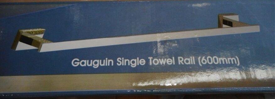 Gauguin single towel rail 60 CM by Gallery