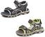 Boys Outdoor Sandal Holiday Beach Open Toe Lightweight Touch Fasten UK Size 6-12