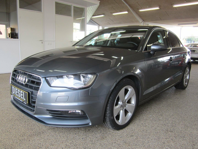 Audi A3 1,6 TDi Ambition 4d - 189.900 kr.