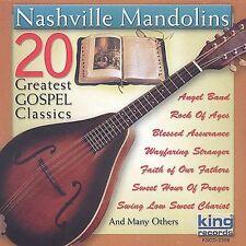 INSTRUMENTAL MANDOLIN GOSPEL rock of ages HOLY whispering hope NEW 20 hit CD