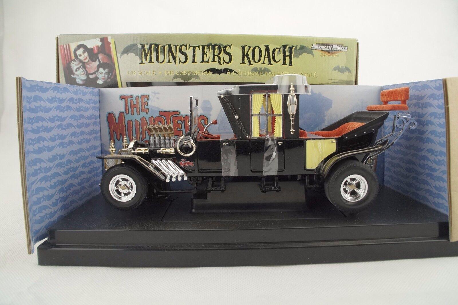 Ertl - Modelo de Película Monstruos Koach Negro - Rareza - Nuevo / Emb .