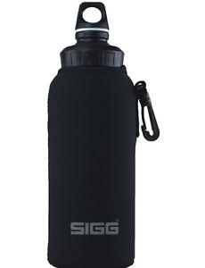 SIGG Thermo-Hülle NEOPREN Schwarz 1,0 L WMB Trinkflasche Flasche Isolier-Tasche