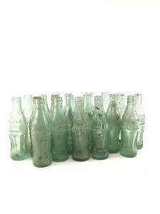 Assorted-Lot-Of-17-Vintage-Coca-Cola-Bottles-3792