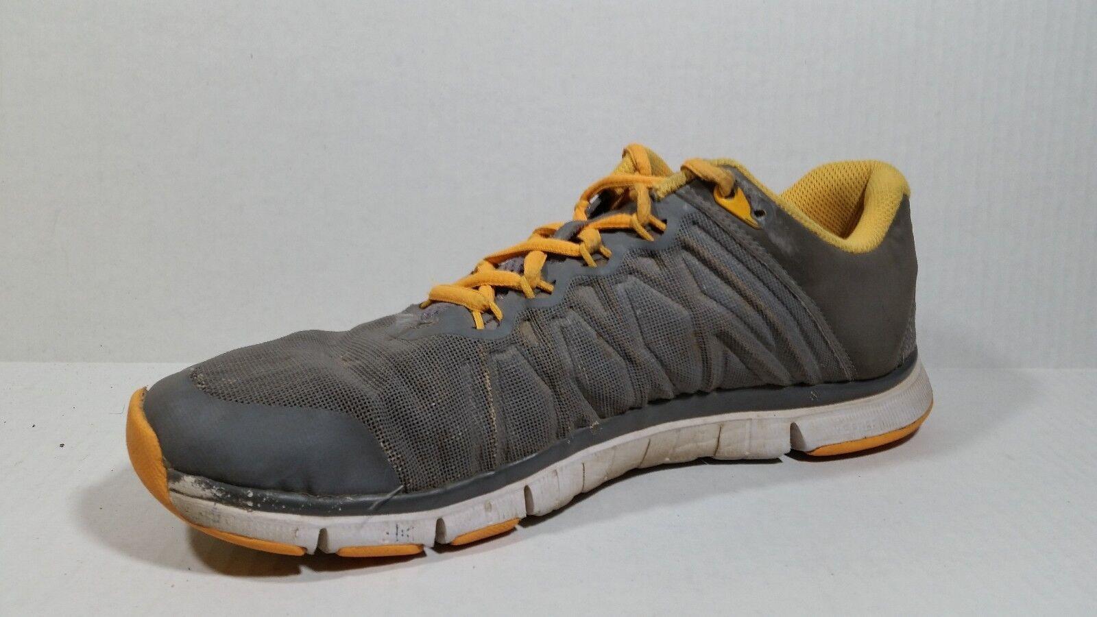 nike libera formatori 3,0 mens corsa, 8 med scarpe da corsa, mens scarpe da ginnastica 630856-008 grigio arancio d32105