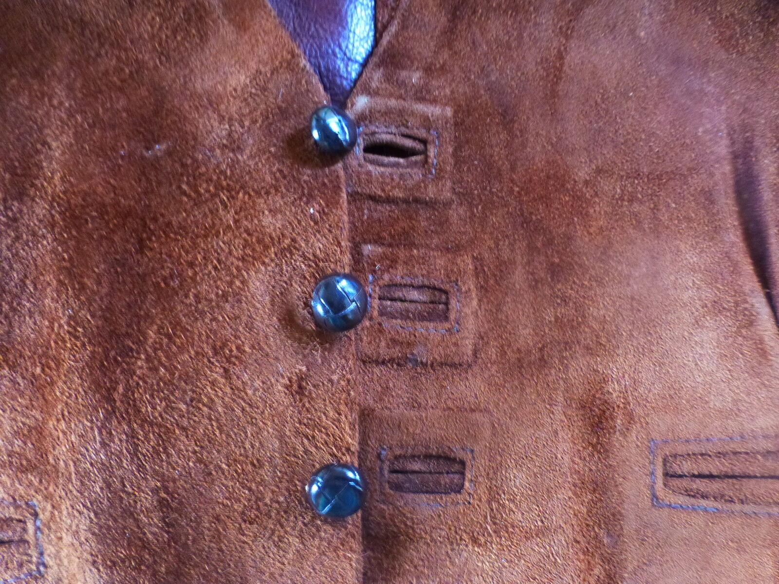 T46 neu beau herren weste ,leder wild- wild- wild- ,schön coupe land,eleganz | Zu verkaufen  f61c59