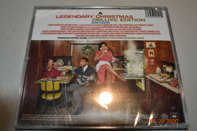 JOHN LEGEND - A LEGENDARY CHRISTMAS Audio CD NEW   eBay