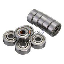 10pcs 623zz 3x10x4mm Bearing Miniature Ball Shielded Radial Bearings Silver