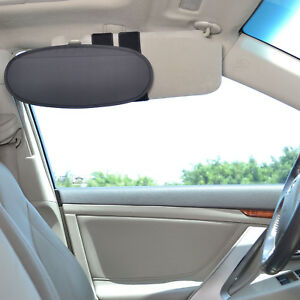 Sun Blocker For Car >> Details About Tfy Vehicle Visor Anti Glare Sunshade Extension Sun Blocker For Cars Vans Trucks