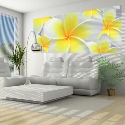 Nappes papiers peints Photos Papier Peint Image la fresque papier peint Papier peint jaune fleurs 3fx033vep
