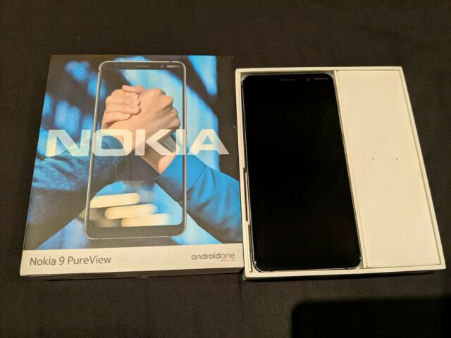 Nokia 9 PureView 128gb Midnight Blau (Entsperrt) Android Smartphone