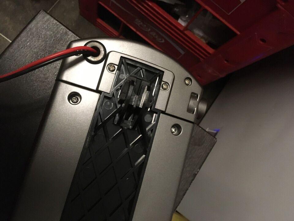 Elcykel-udstyr, Helt batteri
