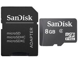 SanDisk-8GB-microSD-8G-microSDHC-micro-SD-SDHC-class-4-C4-memory-card-w-Black-A