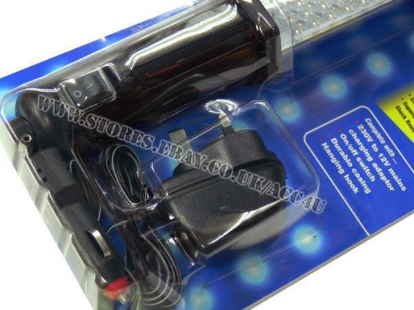 Maypole Professionell Werkstatt wiederaufladbar 60 LED Auto Inspektion Hand Hand Hand 89200d