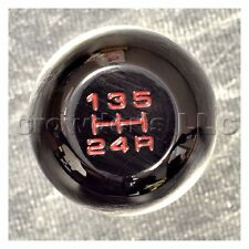 NRG 5 Speed Black Chrome Heavy Weight Shift Knob - Honda - Part # SK-100BCH-2-W