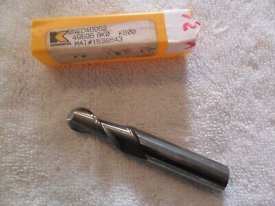 """3//8/"""" SOLID CARBIDE 6 FLUTE CENTER CUT SINGLE END MILL TIALN COATED BY IMCO"""