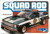 Mpc 1:25 1979 Chevy Nova Squad Rod Police Car Model Kit Mpc851