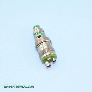 Star 5 Hole Fiber Optic Coupler ref 263758 Good Optics Warranty, Omega Dental