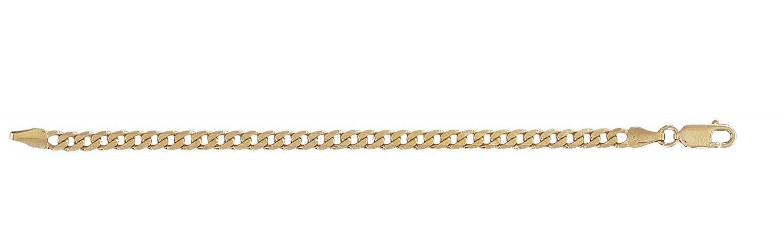 9ct gold BABIES Curb Bracelet  4mm Width   5  Length   2.4g  NEW