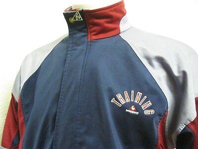 Vintage Retro 90' Ancienne VESTE LE COQ SPORTIF TRAINING SURVÊTEMENT F174 Jacket | eBay
